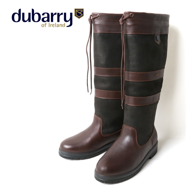 dubarry デュバリー GALWAY EXTRAFIT COUNTRY BOOT BLACK/BROWN 3931 【アウトドア/ブーツ/靴】 【clapper】