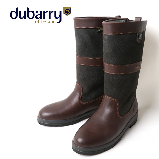 dubarry デュバリー KILDARE COUNTRY BOOT BLACK/BROWN 3892 【アウトドア/ブーツ/靴】 【clapper】