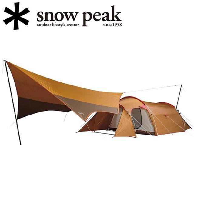 スノーピーク (snow peak) テント&タープセット エントリーパック TT /SET-250【SP-TARP】 【clapper】