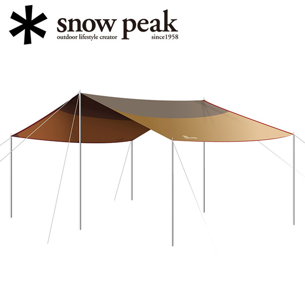 即日発送 【スノーピーク/snow peak】HDタープ