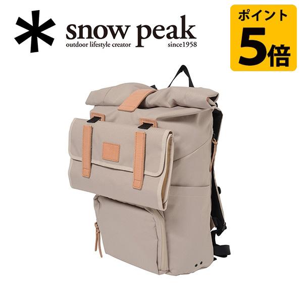 【スノーピーク/snow peak】バックパック/トラベルバックパック アイボリー/UG-211IV 【SP-APPL】 お買い得 【clapper】