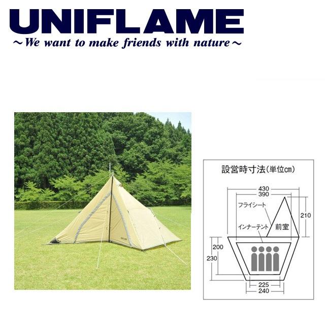 【ユニフレーム UNIFLAME】 テント/REVOルーム4プラス/680896 【UNI-TENT】 お買い得 【clapper】