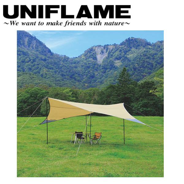 【ユニフレーム UNIFLAME】 REVOタープ L/681190 【UNI-TENT】 お買い得 【clapper】