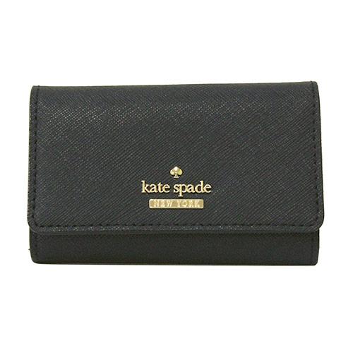 【kate spade ケイトスペード 】 キャメロンストリート ジャックス (ブラック) キーケース/プレゼント/ギフト/贈り物/お返し/おしゃれ/ブランド/ 【YDKG-kd】