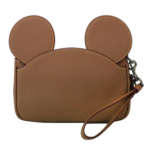 【COACH Disney】 コーチ×ディズニー ミッキーマウス レザー イアーズリストレット F59529 QB/SD 【YDKG-kd】