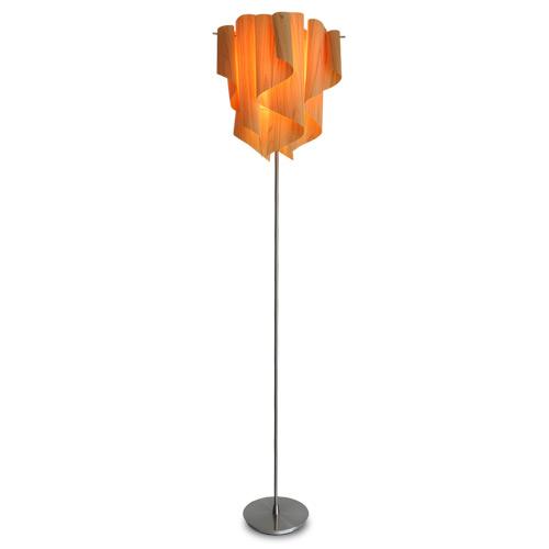 フロアライト アウロウッド (Auro-wood) E26 1灯 LF4200 ディクラッセ(DICLASSE)★ 照明器具 インテリア照明 リビング 寝室 フロアランプ オーロラ 木のカーテン ドレープ 北欧 ナチュラル 癒し 光と影【送料無料】