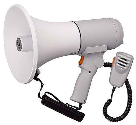 ハンドル付ショルダーメガホン 15W ER-3115 TOA
