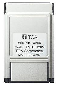 メモリーカード 128mB EV-CF128M TOA
