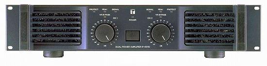 パワーアンプ 600Wx2Ch IP-600D TOA