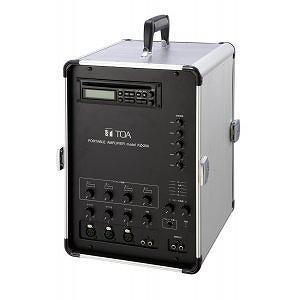 移動用PAアンプ 30Wx2ch CD付 KZ-30A TOA