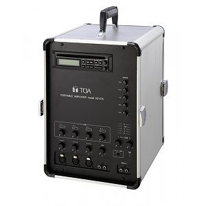 移動用PAアンプ 65Wx2ch CD付 KZ-65A TOA