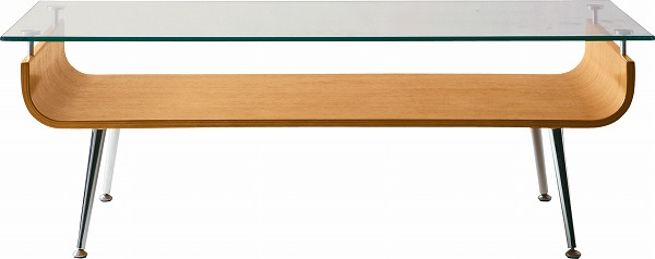 【メーカー直送】 ガラステーブル センターテーブル NET-301NA 東谷 東谷一般商品 【送料無料】