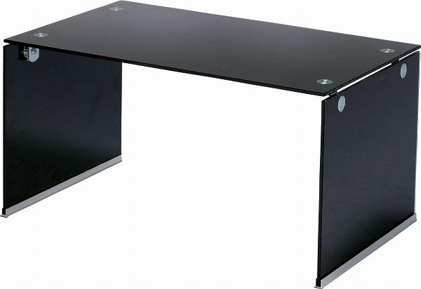 【メーカー直送】 ガラステーブルS センターテーブル PT-28BK 東谷 東谷一般商品 【送料無料】