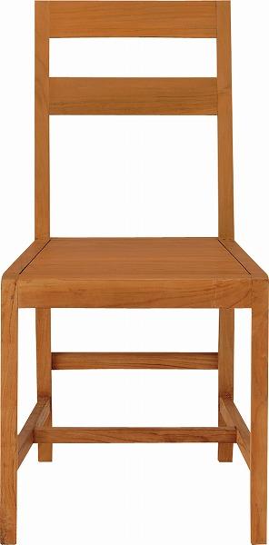 【メーカー直送】 エーク チェア イス 椅子 木製 TTF-168 東谷 東谷一般商品 【送料無料】