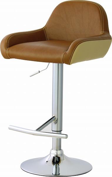 【メーカー直送】 カウンターチェア イス 椅子 RKC-266BR 東谷 東谷一般商品 【送料無料】