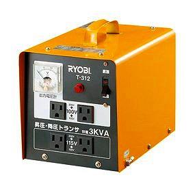 昇圧・降圧トランサ T-312 RYOBI