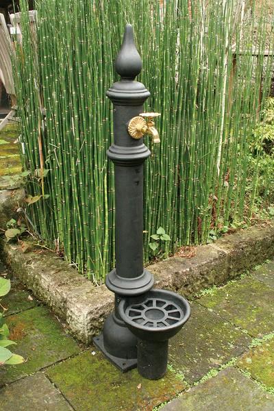 鋳鉄立水栓 Aタイプ(給排水管付) 14011N ジャービス商事