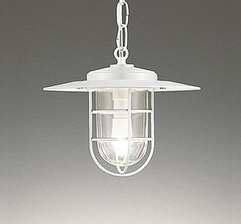 照明器具 おしゃれ マリンランプ インダストリアル ヴィンテージ 軒下用ペンダント LED(電球色) OP252411LD