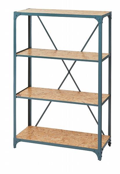 【メーカー直送】 ラック3段 シェルフ 棚 飾り棚 アジャスター付き 什器 収納