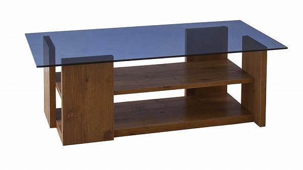【メーカー直送】 ガラステーブル センターテーブル ローテーブル