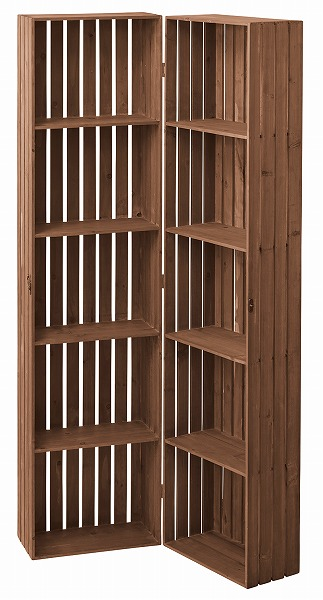 トレノ ボックスシェルフ 天然木 棚 飾り棚