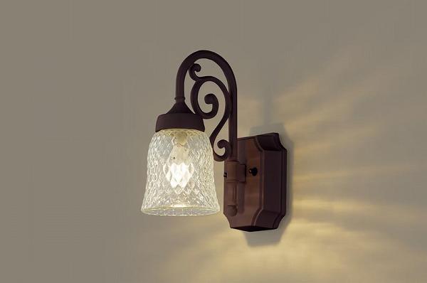 LGW85203AK パナソニック ポーチライト ダークブラウンメタリック LED(電球色) (LGW85203A 推奨品)
