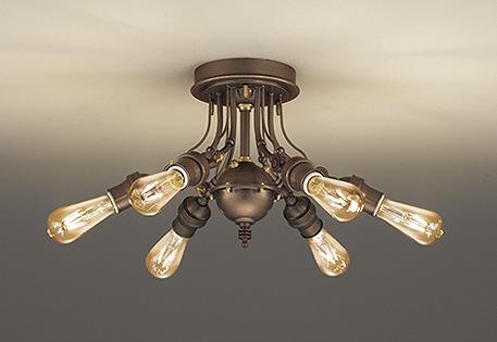 おしゃれ 照明 シャンデリア リビング レトロ OC257128LC オーデリック LED(電球色) ~4.5畳