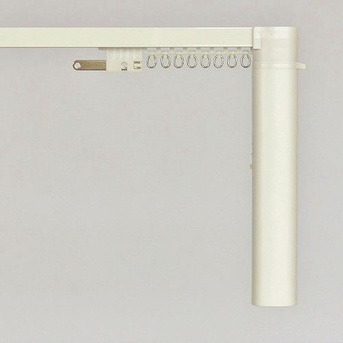 【メーカー直送】 CR200 Nasnos 電動カーテンレール+手引レールセット ダブル 101~150cm