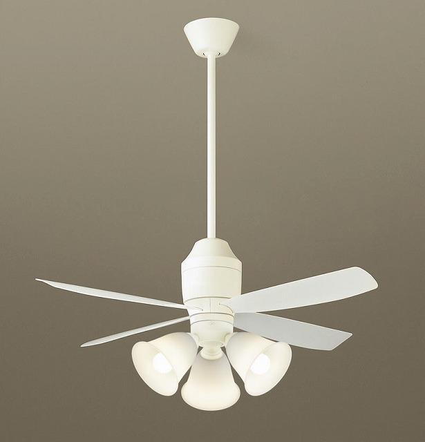 XS70243K パナソニック シーリングファン ホワイト LED(電球色) ~8畳
