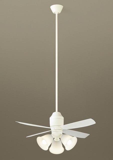 XS70543K パナソニック シーリングファン ホワイト LED(電球色) ~8畳