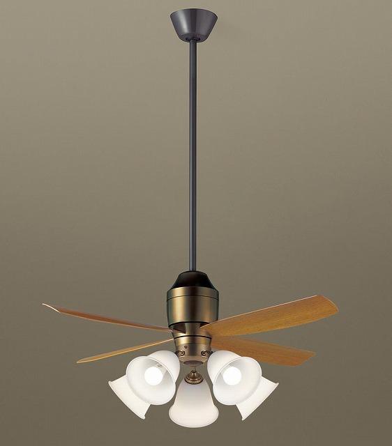 XS73142K パナソニック シーリングファン 金色古味 LED(電球色) ~14畳