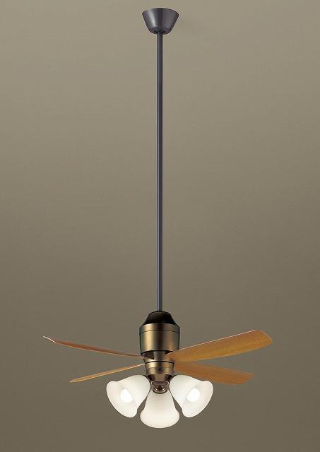 XS73545K パナソニック シーリングファン 金色古味 LED(電球色) ~8畳