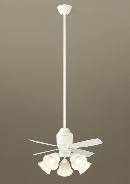 XS75540K パナソニック シーリングファン ホワイト LED(電球色) ~14畳