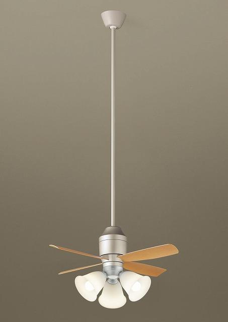 XS77544K パナソニック シーリングファン シルバーメタリック LED(電球色) ~8畳