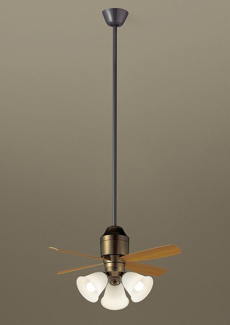 XS78545K パナソニック シーリングファン 金色古味 LED(電球色) ~8畳