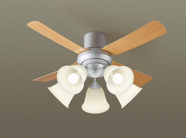 XS81041K パナソニック シーリングファン ライトシルバー LED(電球色) ~14畳