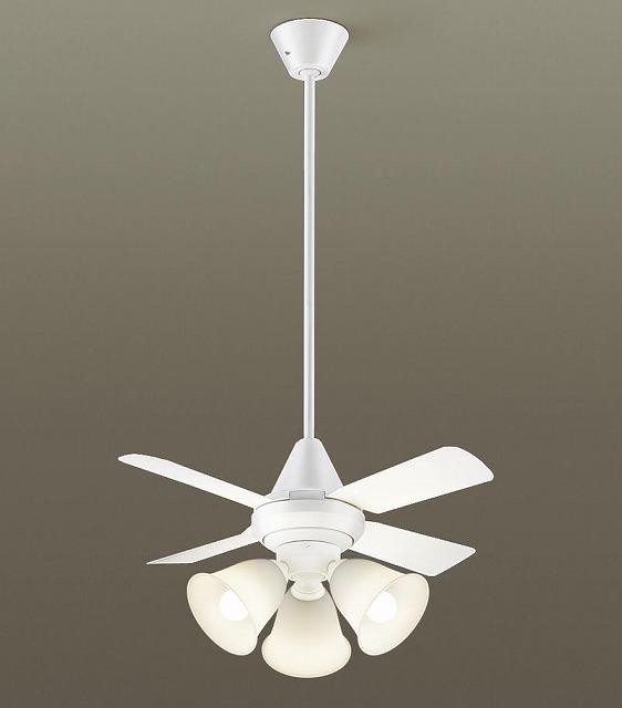 XS95143K パナソニック シーリングファン ホワイト LED(電球色) ~8畳