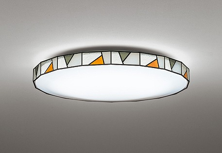 オーデリック R15 シーリングライト ~12畳 ステンド調 高演色LED 調色 調光 Bluetooth OL291157BCR