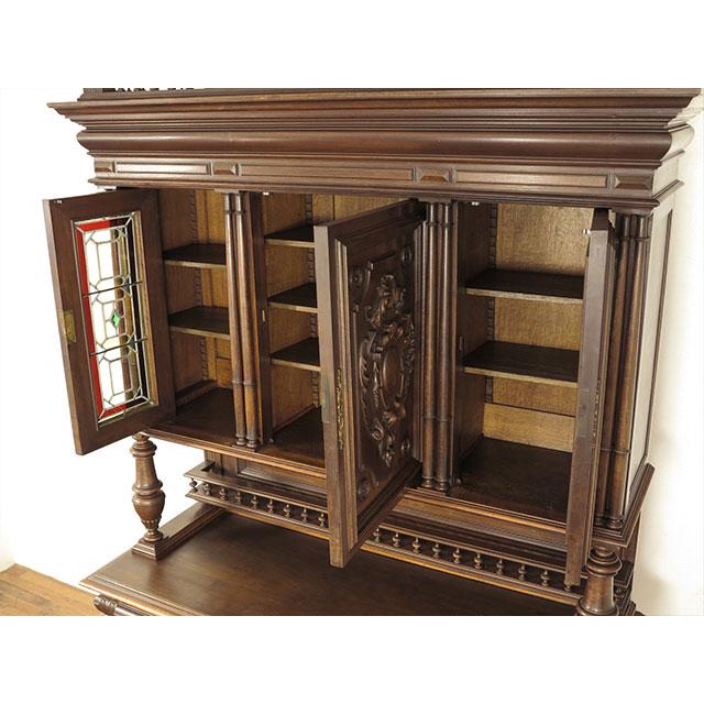 アンティーク家具キャビネットアンティーク家具antique20299キャビネット1880年頃ウォールナット材フランス