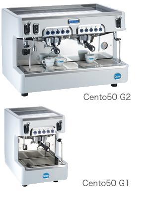 送料無料 CARIMALI カリマリ セミオートエスプレッソマシン Cent50 G2  (2連式)