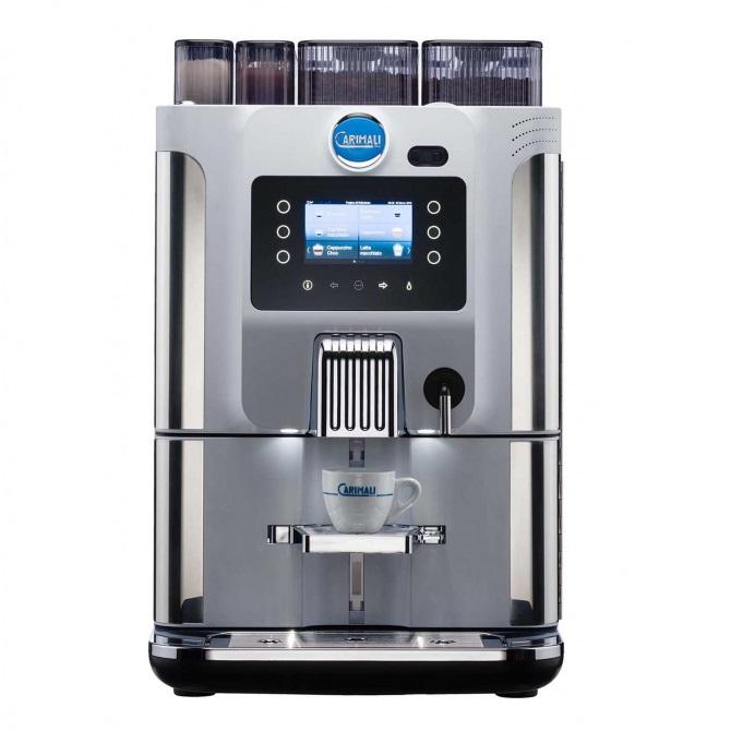 送料無料 CARIMALI カリマリ 全自動コーヒーマシン Blue Dot F22 ( 2グラインダー + 2 パウダー 仕様 )