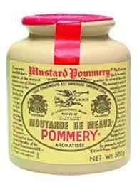 フランスで有名な POMMERY 粒状マスタード GABAN ギャバン ポメリー マスタード 500g