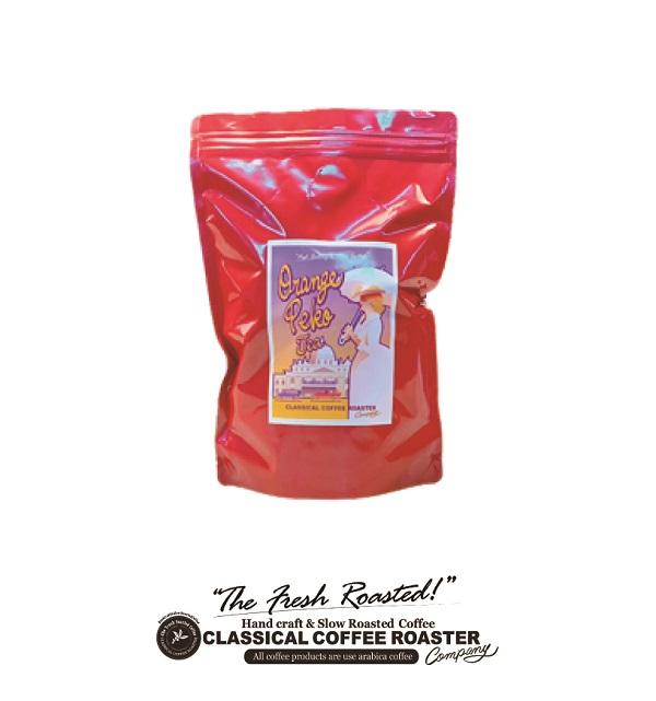 当社オリジナル 紅茶 をお得な価格で チャック付スタンドバック 外装ラベルを一新し さらに使いやすくなりました オレンジペコ ティ リーフ 茶葉 ORANGEPEKO 150g 3pound 業務用 激安通販ショッピング 1 LEAF 定番 TEA お試し お買い得