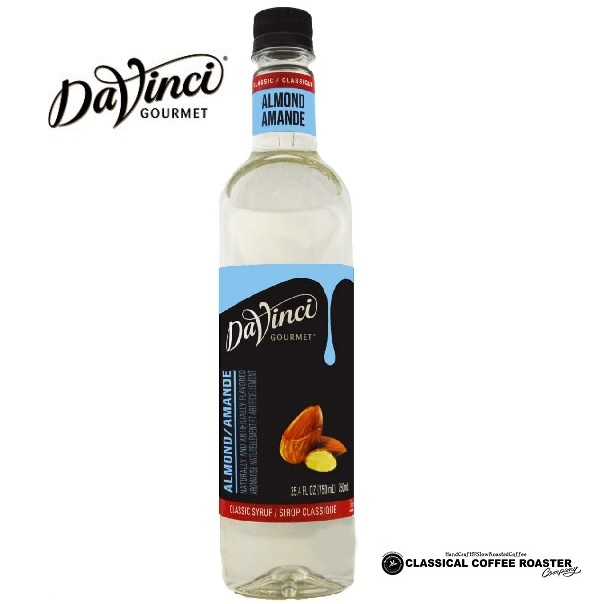 ダヴィンチ社 NEW ARRIVAL フレーバーシロップ ならお任せください Davinci 無料サンプルOK ダヴィンチ PET 750ml クラシック アーモンド