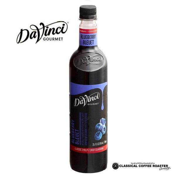 ダヴィンチ社フレーバーシロップ ならお任せください Davinci ダヴィンチ 在庫あり ブルーベリー 750ml フレーバーシロップ クラシック おすすめ特集