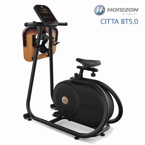 本格派インドアバイク♪床保護マット&サングラスプレゼント中!【HORIZON/ジョンソン】CITTA BT5.0■気軽にホームツーリングを!デスク付きのコンパクトなバイク