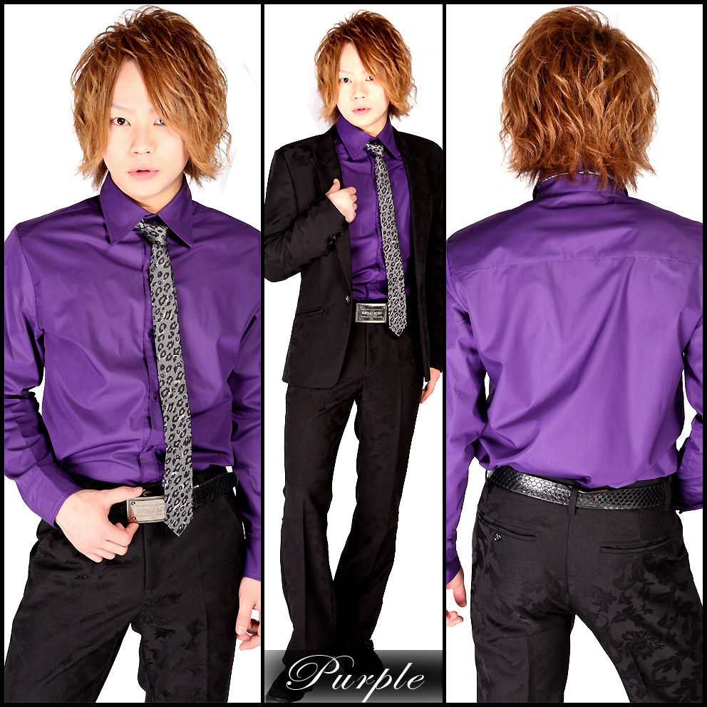 Claymore Online All Six Colors Of Color Dress Shirt Mat Luster