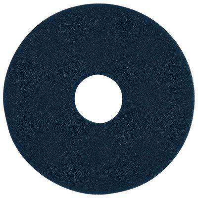 3M フロアパッド 15インチ 青 5枚 ブルークリーナーパッド【業務用 ポリッシャー用パッド】