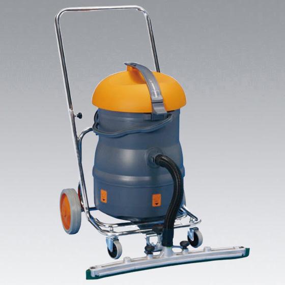 シーバイエス バキュマット220T+フットペダルセット(旧製品名JWD-220T)【業務用 ウェットバキューム床洗浄剥離作業に】