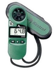 TOWA デジタル風速計 K2000 【業務用 防水測定器具 風速 平均風速 最大風速 空気温度 体感温度 液晶ディスプレイ】
